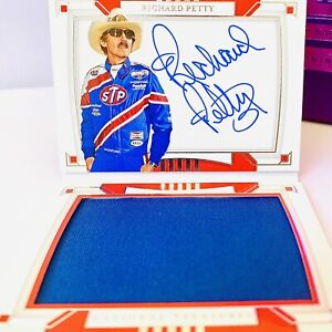 👑 Richard Petty 2020 National Treasures Racing AUTO Firesuit Booklet #16/25 WOW