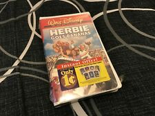 Herbie Goes Bananas VHS Sealed W/ Tags Clamshell Walt Disney