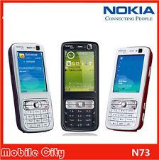 "Original Nokia N73 Unlocked 2.4"" Bluetooth 3.2MP Camera 3G Keyboard Cell Phone"