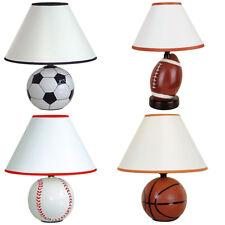 Bedroom Soccer Basketball Baseball Football Decor Sport Themed Design Table Lamp