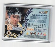 NHL 1996-97 Pinnacle Ice Breakers Motion Card Mcd31 Ray Bourque Boston Bruins