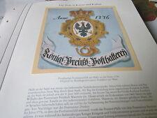 Post Archiv 3 Kunst 8 Preußisches Posthausschild Halle Saale 1776