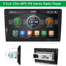 """9"""" Single 1Din Stereo Radio FM MP5 Player Touch Screen WINCE Head Unit Universal"""