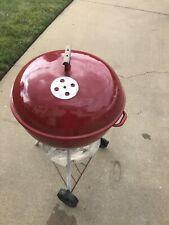 Vintage 1970s Weber Red Kettle Grill 22