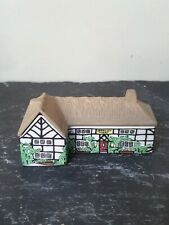 More details for small wade houses-on-why 'barley mow' set 1  no2 1980-81 miniature house