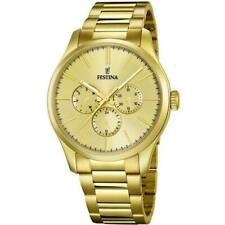 Festina Gold Stainless Steel Multi Function Quartz Bracelet F16811/1 Watch
