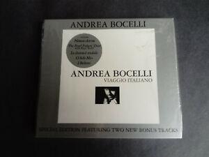 Andrea Bocelli - Viaggio Italiano (CD 2003 Sp.edition) sealed