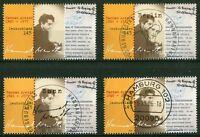 Bund 2566 postfrisch gestempelt BRD Luxus Vollstempel Bonn,Berlin,Hamburg,Tagess