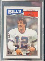 1987 TOPPS JIM KELLY ROOKIE  CARD BUFFALO BILLS #362
