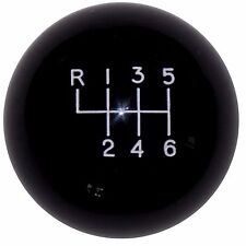 Black 6 Speed Pattern Shift Knob for 2014 15 16 Hyundai Veloster Turbo U.S MADE
