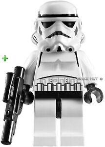 LEGO STAR WARS CLASSIC DOTTED MOUTH STORMTROOPER + GIFT - BESTPRICE - 10212 NEW