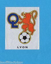 FRANCIA-FOOTBALL 80-PANINI-Figurina n.121- SCUDETTO/ECUSSON - LYON -Rec