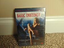 Basic Instinct 2 DVD 2006 Sharon Stone Movie Theatrical Version BRAND NEW SEALED