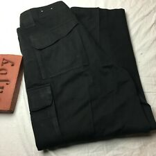 TRU-SPEC Tactical Cargo Pants Ripstop 9 Pockets Mens Size 36 X 30 Black Uniform