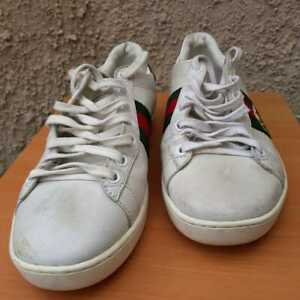 Size 8.5 - Women's Gucci Ace Embroidered Bee - 431942-39-9064