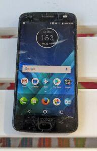 Motorola Z2 FORCE Black 64GB ATT clean IMEI 7290 READ details