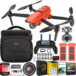 Autel EVO 2 Drone Quadcopter EVO II 8K On The Go Bundle + Extended Warranty Kit