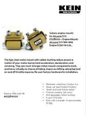 KEIN Engine Motor Mounts kit for Subaru SVX, Alcyone, EG33