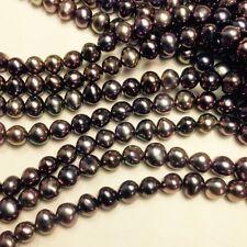 5 - 5.5mm Fresh water pearl bronze Brown potato 15.5''  WP370-5