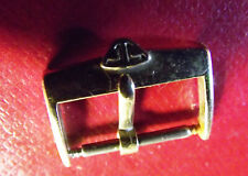 JAEGER Le COULTRE RARE VINTAGE GOLD COLOR BUCKLE 16 mm - SWISS MADE