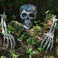 3 Stuck Für Halloween Hot Skelett Totenkopf Totenschädel Garten Hof Rasen Dekor
