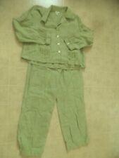 J. JILL Two-Piece Linen Suit Cropped Pants Size 10P Blazer/Jacket Size L