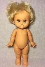 Vintage 1990s Galoob Baby Face So Loving Laura Blonde Hair Doll Brown Eyes