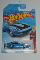 2017 Hot Wheels '82 NISSAN FAIRLADY Z Blue Color FYF05 Nissan 240Z 1:64 MOC