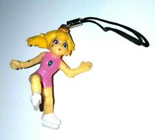 Super Mario Nintendo Princess Peach Key-chain Phone Strap Figure Collectible 1''