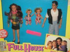 FULL HOUSE Dolls JESSE'S FAMILY Jesse Becky Nicky Alex 1993 Tiger NEW IN BOX