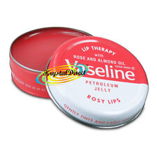 3x Vaseline Lip Therapy Rosy Lips Pink Tin 20g