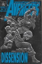 The Avengers Comic Issue 363 Silver Embossed Cover Modern Age First Print 1993