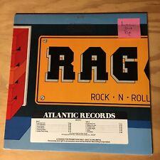 R A G - Rock N Roll LP  1984 Atlantic Aussie Hard Rock AC/DC Flash Dirty Looks