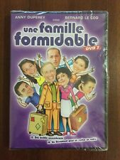 UNE FAMILLE FORMIDABLE DVD 7 - 2 CAPS - 180 MIN - ONLY FREN SOUND - NEW SEALED