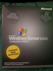 Microsoft Windows Server 2003 Enterprise Edition (25 Client/s)