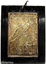 MIMI' (Donna nuda con fiore) su lamina d'argento
