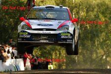 Carlos Sainz Ford Focus RS WRC 02 Rally Finlandia 2002 fotografía 1