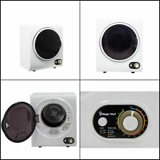Electric Dryer Compact Compact Stainless Steel Tub Durable Apartment 1.5 cu. ft.