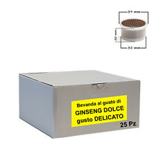 25 capsule Bevanda Ginseng DELICATOCialdeitalia - Comp. Lavazza Espresso Point