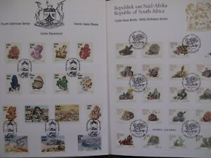 lot of 60+ South Africa Homeland Venda Transkei FDC First Day Cover SHEETS