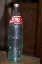 Bouteille sérigraphiée n°24 COCA COLA vide de 1993 contenance 1 litre , rare