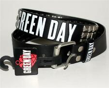 GREEN DAY Pop Alternative Punk Rock Band GOTHIC Studded LEATHER BELT L 36-38 New