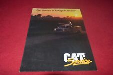 Caterpillar Service is always in season For 1990 Dealer's Brochure Cdil