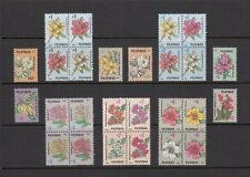 (Rp92A) Philippines - 1992 Complete Regular Stamp Sets - National Flowers. Muh
