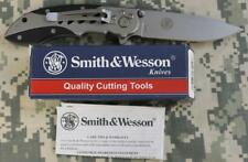 NEW Smith & Wesson CK70 Cuttin' Horse Extreme Ops Folding Knife G10 440 SS Blade