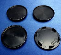 4x Nabenkappen Nabendeckel Felgendeckel 65,0 mm  56,5 mm für RH schwarz 45049