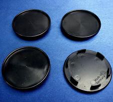 (45049) 4x Nabenkappen Nabendeckel Felgendeckel Träger 65,0 / 56,5 mm schwarz