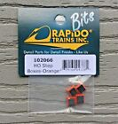 RAPIDO TRAINS HO 1/87 SCALE ORANGE STEP BOXES PACKAGE OF 4 STEP BOXES 102066 F/S