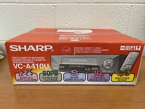 NIB Sealed Sharp VC-A410U Video Cassette Recorder Unopened