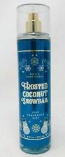FROSTED COCONUT SNOWBALL BATH BODY WORKS FINE FRAGRANCE MIST SPRAY 8 OZ LARGE